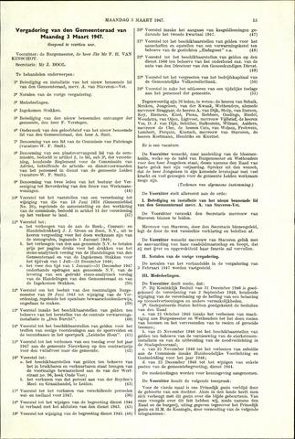 Handelingen van de Raad 1947-03-03
