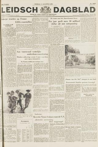 Leidsch Dagblad 1954-08-17