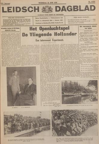Leidsch Dagblad 1930-06-25