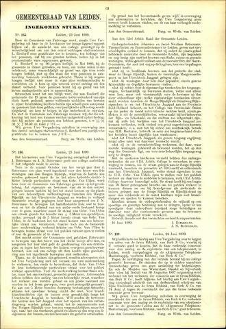 Handelingen van de Raad 1899-06-23