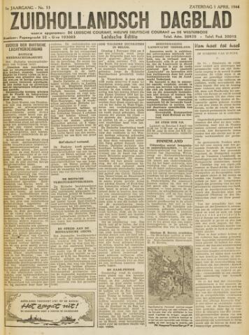 Zuidhollandsch Dagblad 1944-04-01