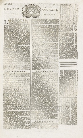 Leydse Courant 1818-07-10