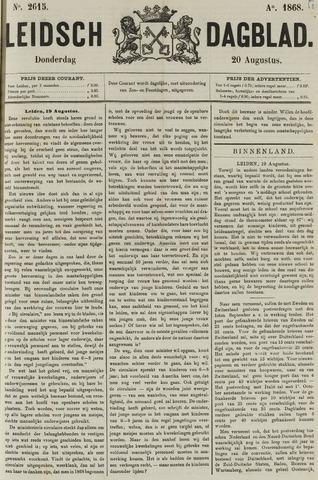 Leidsch Dagblad 1868-08-20