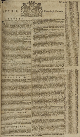 Leydse Courant 1766-07-28