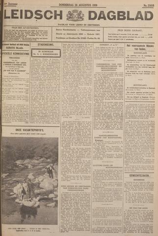 Leidsch Dagblad 1930-08-28