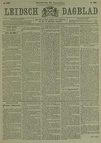 Leidsch Dagblad 1909-11-25