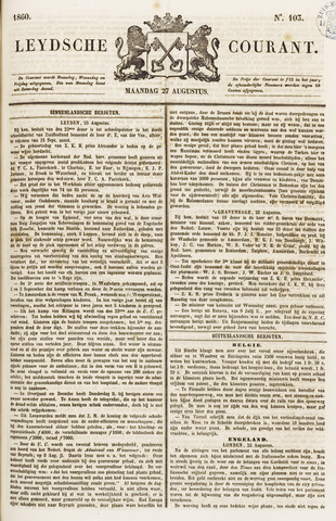 Leydse Courant 1860-08-27