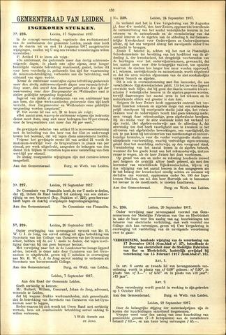 Handelingen van de Raad 1917-09-17