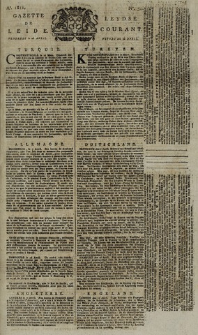 Leydse Courant 1811-04-26