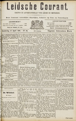 Leydse Courant 1890-04-10