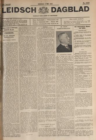 Leidsch Dagblad 1933-05-02