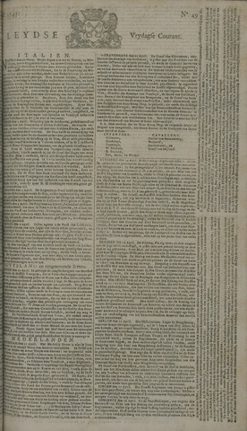 Leydse Courant 1745-04-23