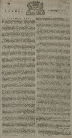 Leydse Courant 1734-11-26
