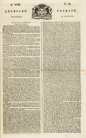 Leydse Courant 1843-01-25
