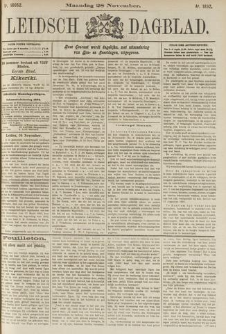 Leidsch Dagblad 1892-11-28