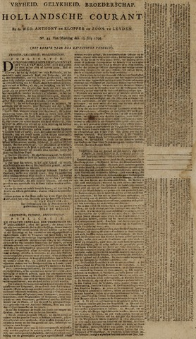 Leydse Courant 1795-07-13