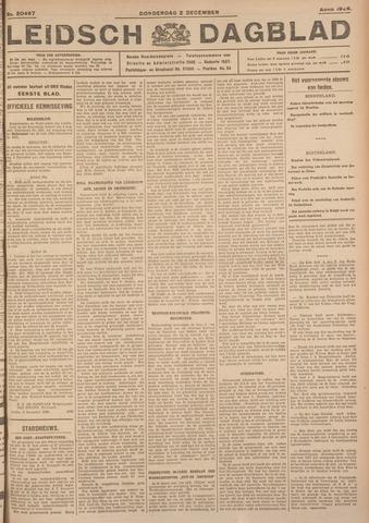 Leidsch Dagblad 1926-12-02