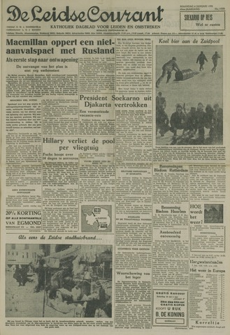Leidse Courant 1958-01-06