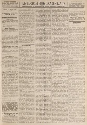 Leidsch Dagblad 1919-02-22