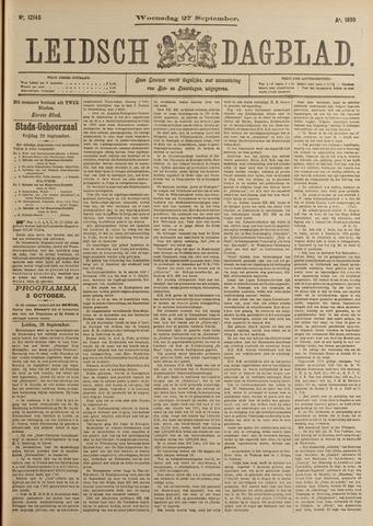 Leidsch Dagblad 1899-09-27