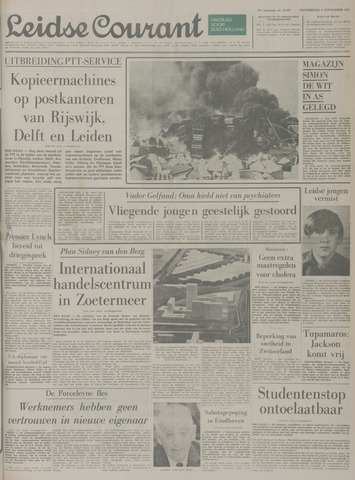 Leidse Courant 1971-09-09
