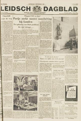 Leidsch Dagblad 1954-09-04