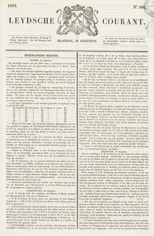 Leydse Courant 1855-08-20