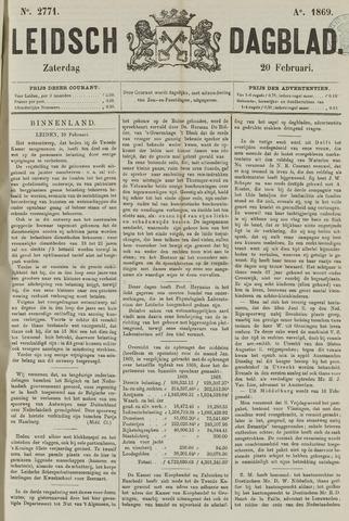 Leidsch Dagblad 1869-02-20