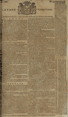 Leydse Courant 1767-02-13