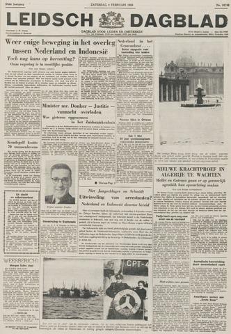 Leidsch Dagblad 1956-02-04
