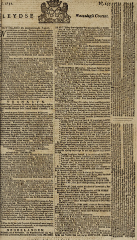 Leydse Courant 1751-11-10