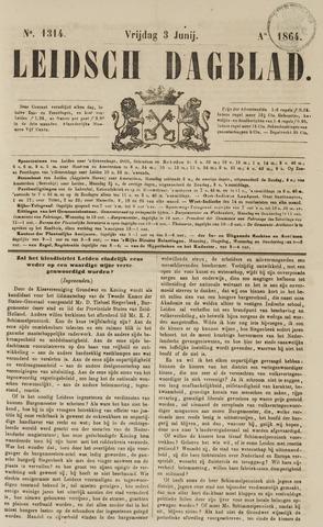 Leidsch Dagblad 1864-06-03