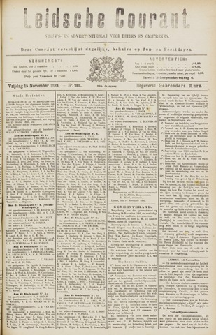 Leydse Courant 1889-11-15