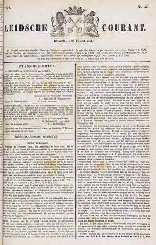 Leydse Courant 1879-02-25