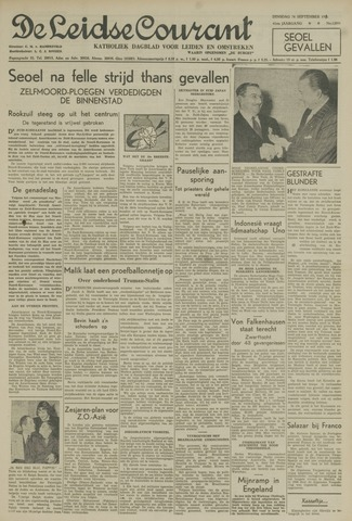 Leidse Courant 1950-09-26