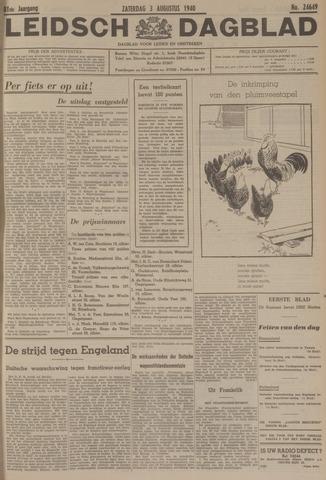 Leidsch Dagblad 1940-08-03