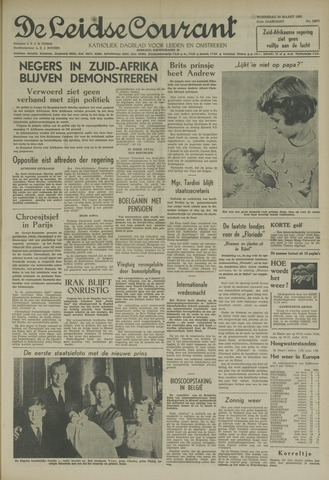 Leidse Courant 1960-03-23
