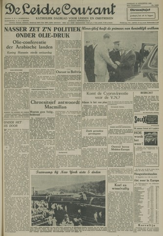 Leidse Courant 1958-08-12