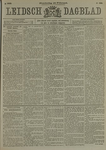 Leidsch Dagblad 1909-02-18