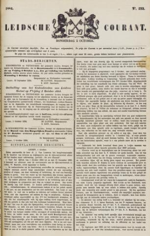 Leydse Courant 1884-10-02