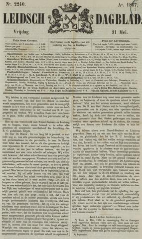Leidsch Dagblad 1867-05-31