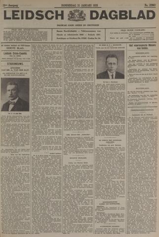 Leidsch Dagblad 1935-01-31