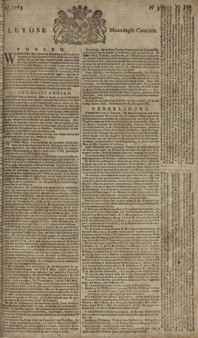 Leydse Courant 1765-01-21