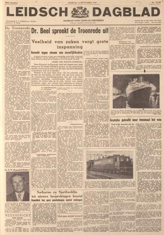 Leidsch Dagblad 1947-09-16