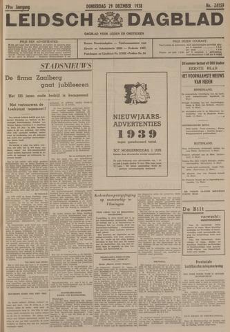 Leidsch Dagblad 1938-12-29