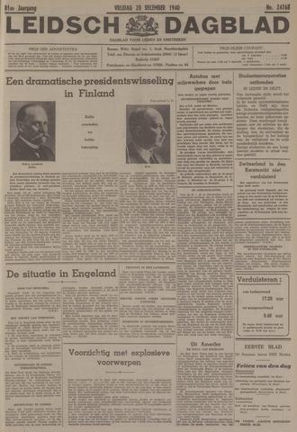 Leidsch Dagblad 1940-12-20