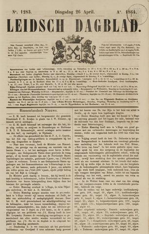 Leidsch Dagblad 1864-04-26