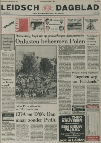 Leidsch Dagblad 1982-08-14