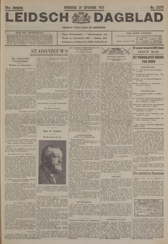 Leidsch Dagblad 1937-09-29