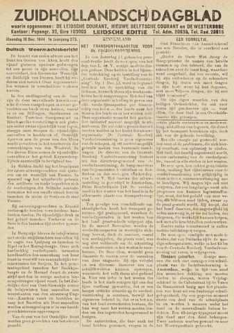 Zuidhollandsch Dagblad 1944-12-18